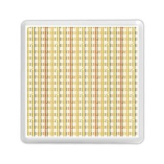 Tomboy Line Yellow Red Memory Card Reader (square)  by Alisyart