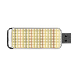 Tomboy Line Yellow Red Portable Usb Flash (one Side) by Alisyart