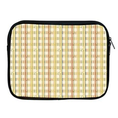 Tomboy Line Yellow Red Apple Ipad 2/3/4 Zipper Cases by Alisyart