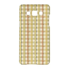Tomboy Line Yellow Red Samsung Galaxy A5 Hardshell Case  by Alisyart