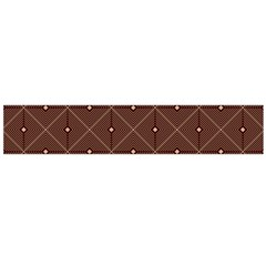Coloured Line Squares Plaid Triangle Brown Line Chevron Flano Scarf (large) by Alisyart