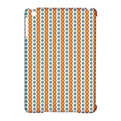 Sunflower Orange Gold Blue Floral Apple Ipad Mini Hardshell Case (compatible With Smart Cover) by Alisyart
