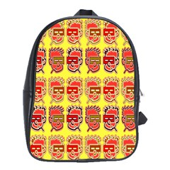 Funny Faces School Bags(large)  by Amaryn4rt