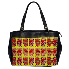Funny Faces Office Handbags by Amaryn4rt