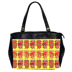 Funny Faces Office Handbags (2 Sides)  by Amaryn4rt
