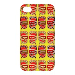 Funny Faces Apple Iphone 4/4s Premium Hardshell Case by Amaryn4rt