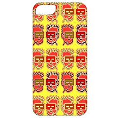 Funny Faces Apple Iphone 5 Classic Hardshell Case by Amaryn4rt