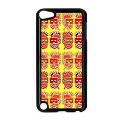 Funny Faces Apple Ipod Touch 5 Case (black) by Amaryn4rt
