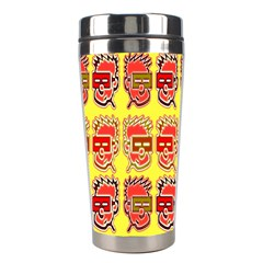 Funny Faces Stainless Steel Travel Tumblers by Amaryn4rt