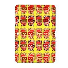 Funny Faces Samsung Galaxy Tab 2 (10 1 ) P5100 Hardshell Case  by Amaryn4rt