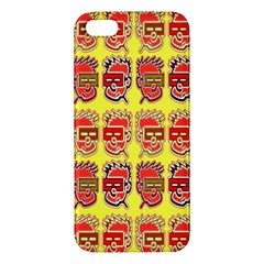 Funny Faces Iphone 5s/ Se Premium Hardshell Case by Amaryn4rt