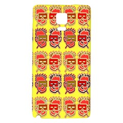 Funny Faces Galaxy Note 4 Back Case by Amaryn4rt