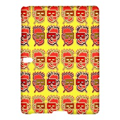 Funny Faces Samsung Galaxy Tab S (10 5 ) Hardshell Case  by Amaryn4rt
