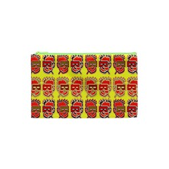 Funny Faces Cosmetic Bag (xs) by Amaryn4rt