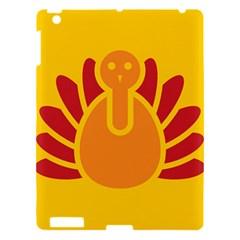 Animals Bird Pet Turkey Red Orange Yellow Apple Ipad 3/4 Hardshell Case by Alisyart