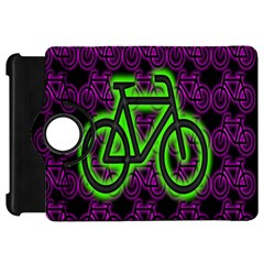 Bike Graphic Neon Colors Pink Purple Green Bicycle Light Kindle Fire Hd 7  by Alisyart