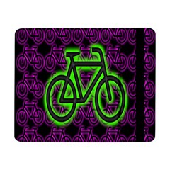 Bike Graphic Neon Colors Pink Purple Green Bicycle Light Samsung Galaxy Tab Pro 8 4  Flip Case by Alisyart
