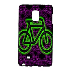 Bike Graphic Neon Colors Pink Purple Green Bicycle Light Galaxy Note Edge by Alisyart