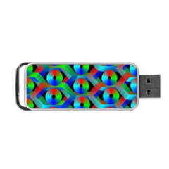 Bee Hive Color Disks Portable Usb Flash (two Sides) by Amaryn4rt