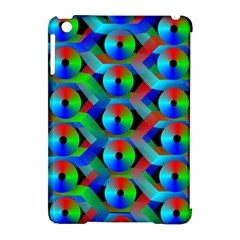 Bee Hive Color Disks Apple Ipad Mini Hardshell Case (compatible With Smart Cover) by Amaryn4rt