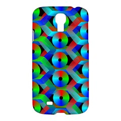 Bee Hive Color Disks Samsung Galaxy S4 I9500/i9505 Hardshell Case by Amaryn4rt
