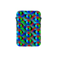 Bee Hive Color Disks Apple Ipad Mini Protective Soft Cases by Amaryn4rt