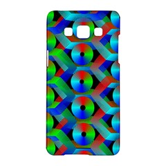 Bee Hive Color Disks Samsung Galaxy A5 Hardshell Case  by Amaryn4rt