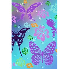 Butterfly Vector Background 5 5  X 8 5  Notebooks by Amaryn4rt