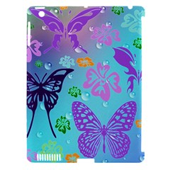Butterfly Vector Background Apple Ipad 3/4 Hardshell Case (compatible With Smart Cover) by Amaryn4rt