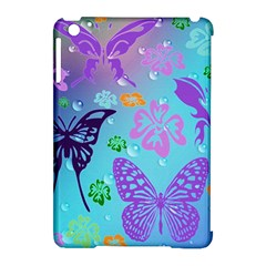 Butterfly Vector Background Apple Ipad Mini Hardshell Case (compatible With Smart Cover) by Amaryn4rt