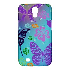 Butterfly Vector Background Samsung Galaxy Mega 6 3  I9200 Hardshell Case by Amaryn4rt
