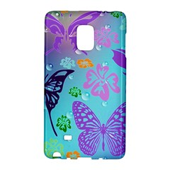 Butterfly Vector Background Galaxy Note Edge by Amaryn4rt