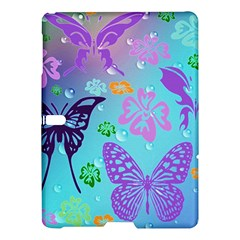 Butterfly Vector Background Samsung Galaxy Tab S (10 5 ) Hardshell Case  by Amaryn4rt