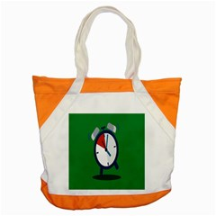Alarm Clock Weker Time Red Blue Green Accent Tote Bag by Alisyart