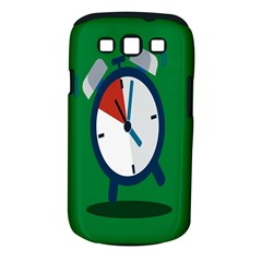 Alarm Clock Weker Time Red Blue Green Samsung Galaxy S Iii Classic Hardshell Case (pc+silicone) by Alisyart