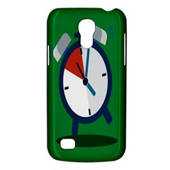Alarm Clock Weker Time Red Blue Green Galaxy S4 Mini by Alisyart