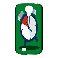 Alarm Clock Weker Time Red Blue Green Samsung Galaxy S4 Classic Hardshell Case (pc+silicone) by Alisyart