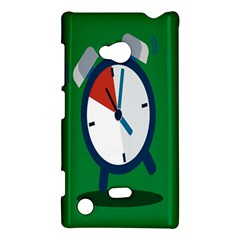Alarm Clock Weker Time Red Blue Green Nokia Lumia 720 by Alisyart