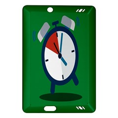 Alarm Clock Weker Time Red Blue Green Amazon Kindle Fire Hd (2013) Hardshell Case by Alisyart
