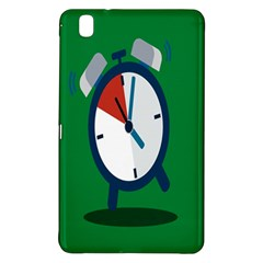 Alarm Clock Weker Time Red Blue Green Samsung Galaxy Tab Pro 8 4 Hardshell Case by Alisyart