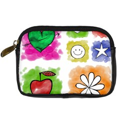 A Set Of Watercolour Icons Digital Camera Cases by Amaryn4rt