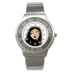 Girl Stainless Steel Watch by Valentinaart