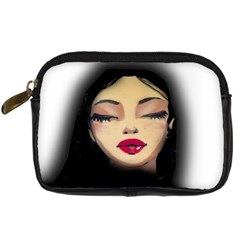 Girl Digital Camera Cases by Valentinaart