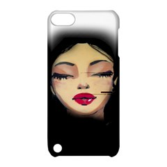 Girl Apple Ipod Touch 5 Hardshell Case With Stand by Valentinaart