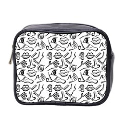 Body Parts Mini Toiletries Bag 2 Side by Valentinaart