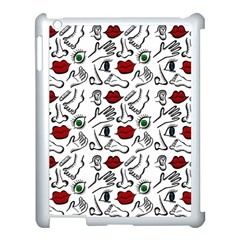 Body Parts Apple Ipad 3/4 Case (white) by Valentinaart