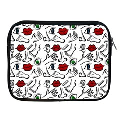 Body Parts Apple Ipad 2/3/4 Zipper Cases by Valentinaart