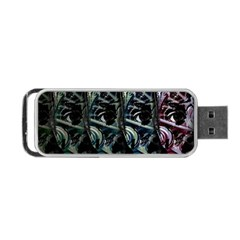 Wild Child Portable Usb Flash (one Side) by Valentinaart