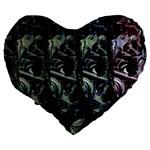 Wild child Large 19  Premium Heart Shape Cushions Back
