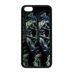 Wild Child Apple Iphone 5c Seamless Case (black) by Valentinaart